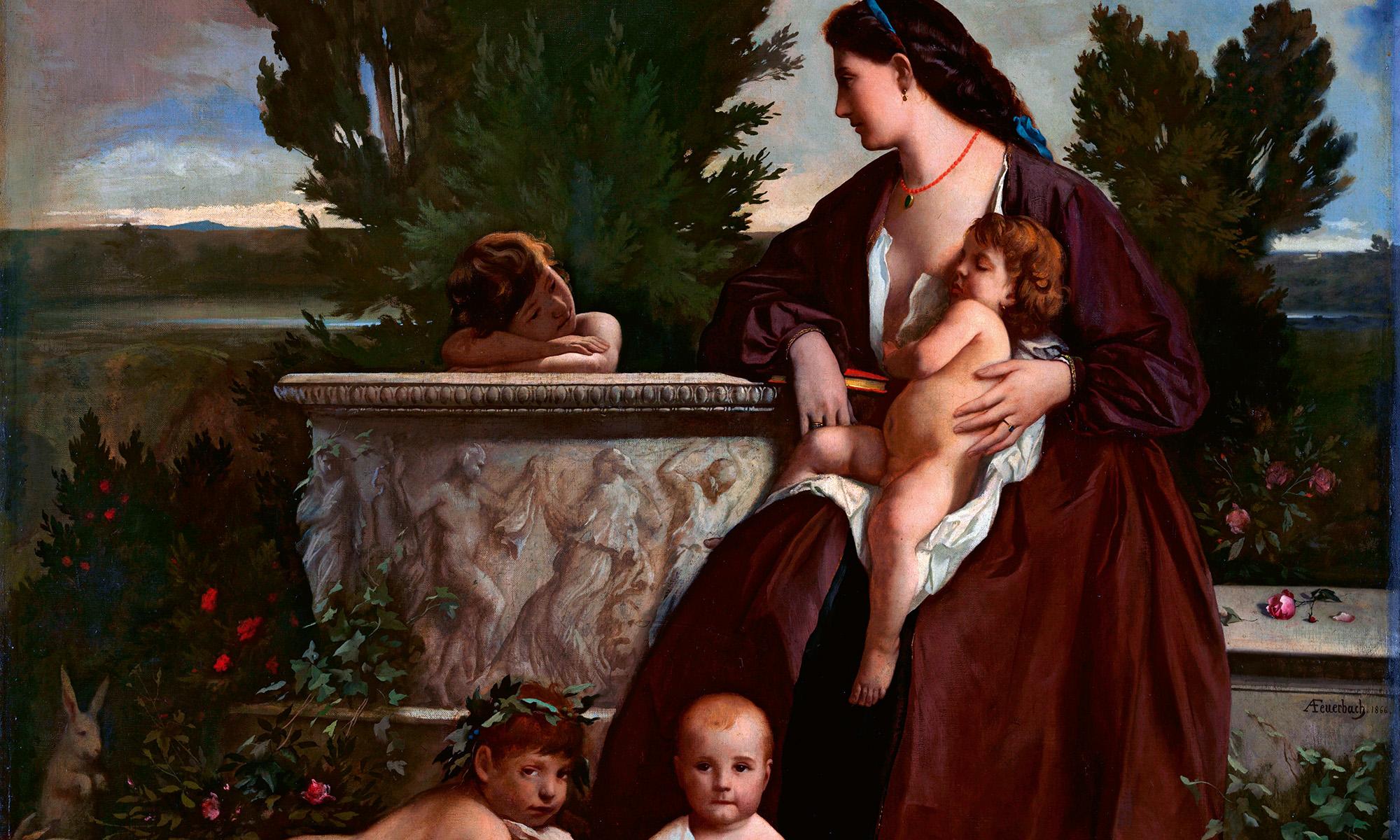 Feuerbach Familienbild